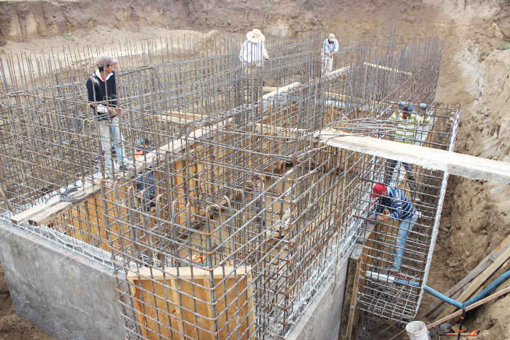 Supervisa JAAL avances de construcción de Planta Tratadora de Aguas Residuales