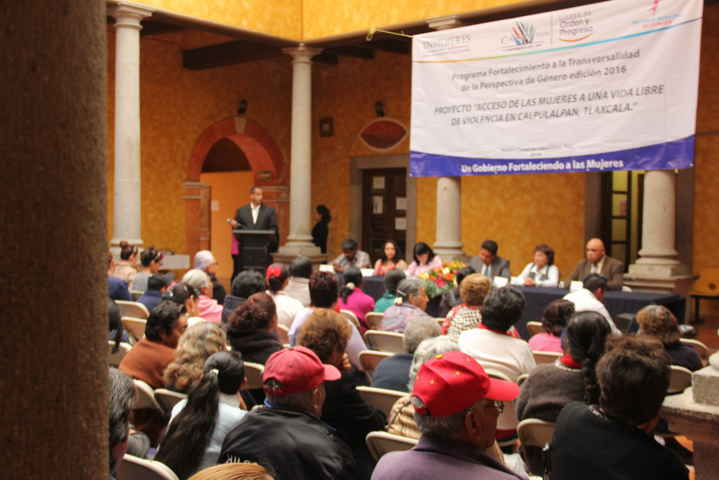Presentan en Calpulalpan Proyecto para fortalecimiento de género