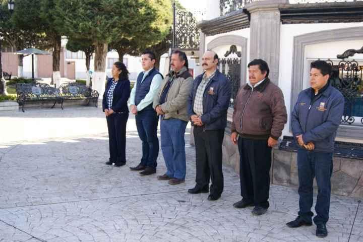 Conmemoran promulgación de la Constitución de 1917 en Nanacamilpa