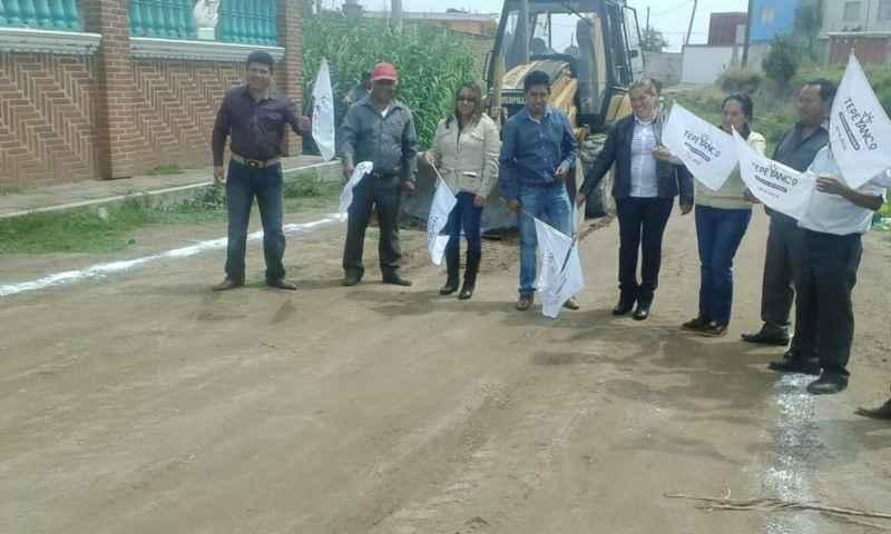 Tepeyanco avanza con importantes obras de impacto social