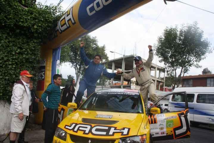 Gana tripulación Benito Guerra-Jaime Zapata XV Rally Jeroc´s 2015