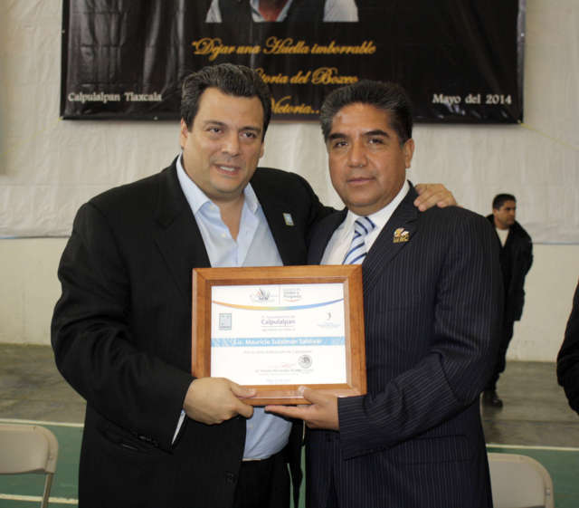 Escuela Municipal de Box de Calpulalpan convive con el CMB