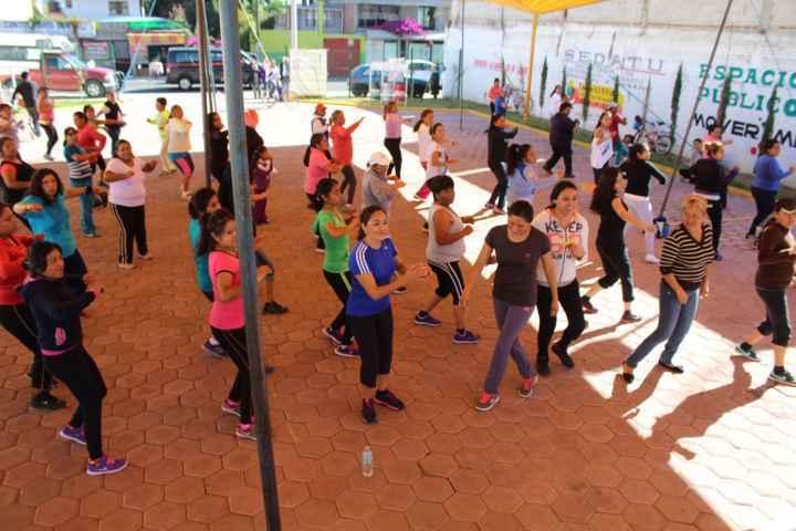 Tepetitla invita a realizar actividad física para evitar enfermedades crónicas
