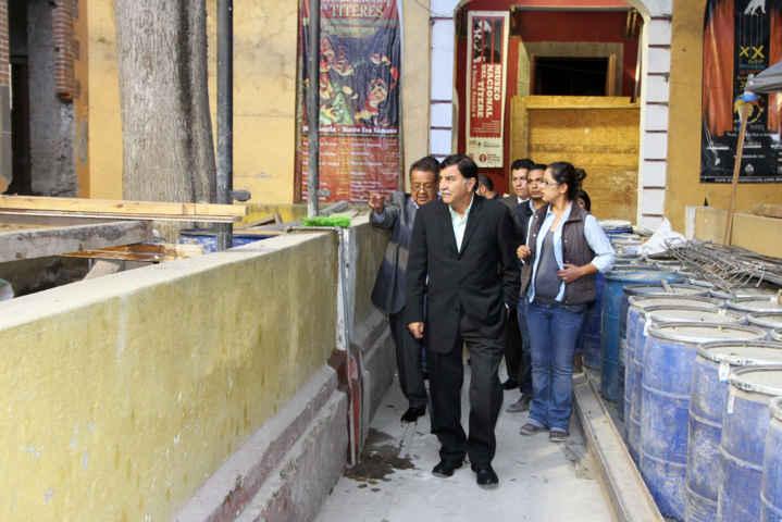 Muestra avances el Museo Nacional del Títere en Huamantla