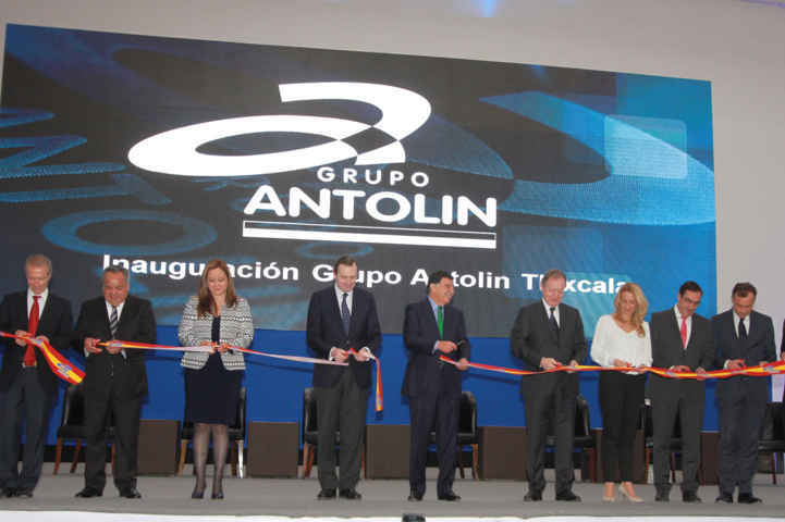 Inauguran planta de Grupo Antolín en Tlaxcala
