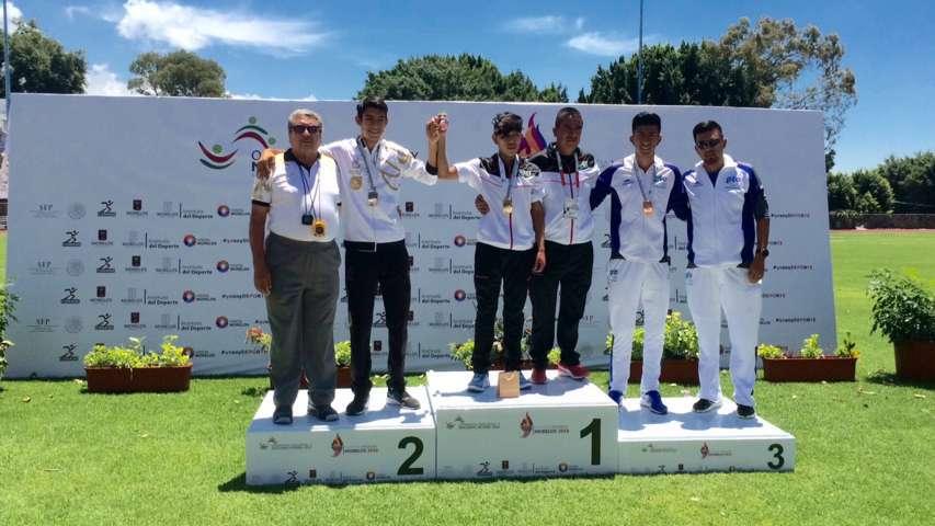 Gana Deerian Imanol la sexta medalla de oro para Tlaxcala