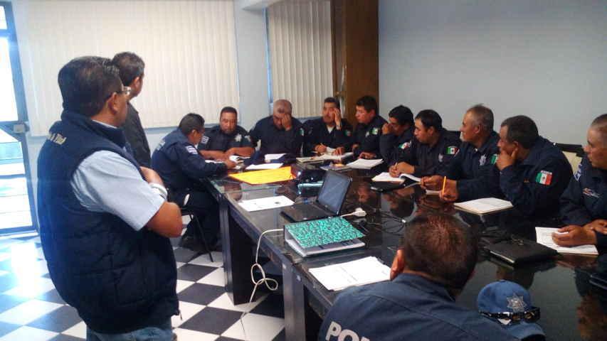 Avanza profesionalización de la policía municipal