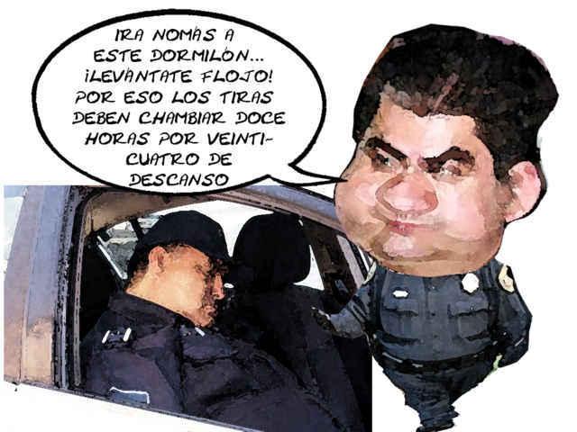 No pueden policías agotados enfrentarse a la delincuencia