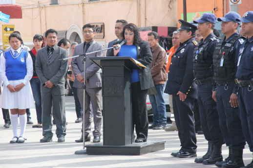 Honra Síndico de Calpulalpan, memoria de Benito Juárez