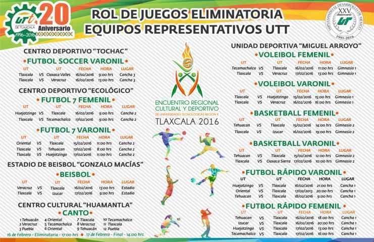 Todo listo para celebrar el XX Encuentro Regional Cultural y Deportivo