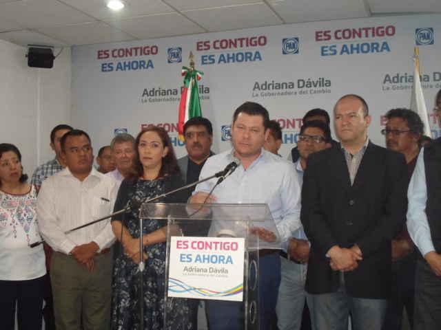 Adriana Dávila admite otra derrota, anuncia que regresa al Senado