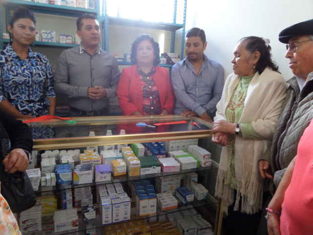 Inauguran Dispensario Médico en Tetla