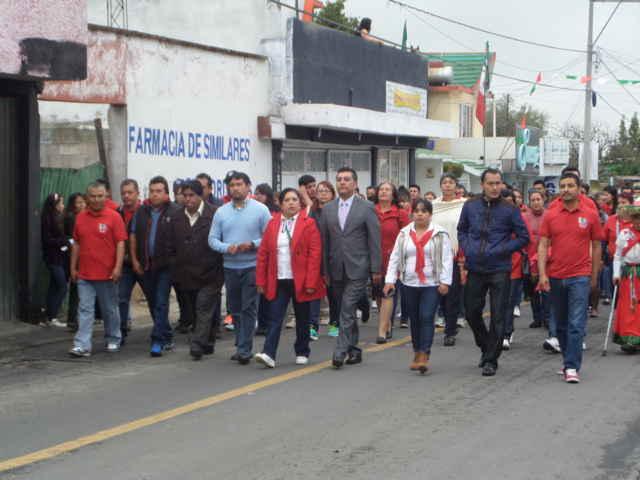 Tetla conmemora 205 Aniversario de la Independencia