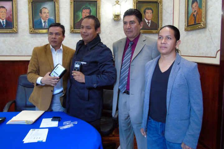 Entregó SESA alcoholímetro al municipio de Tlaxcala