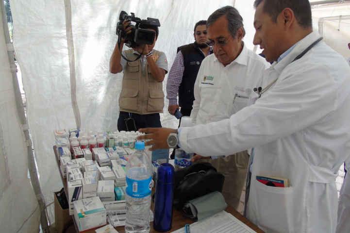 Supervisan unidades médicas en centros turísticos