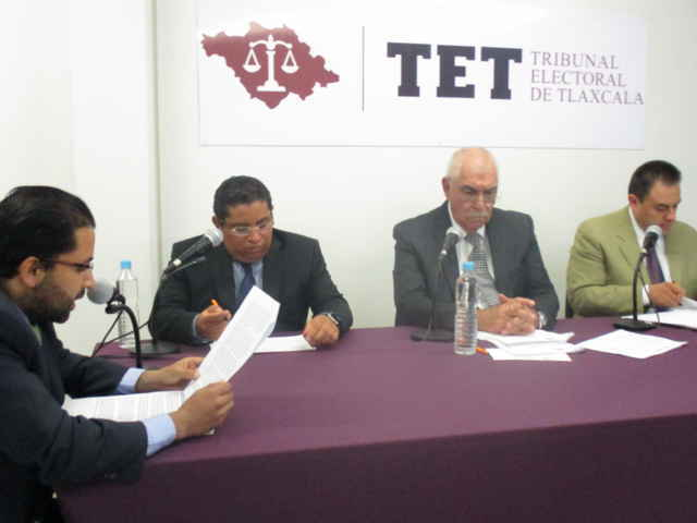 Triunfo contundente del PRI en Chiautempan: TET