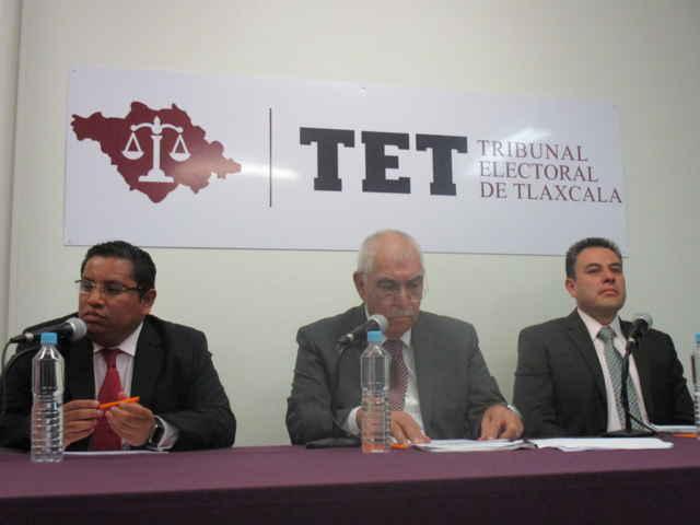 Reserva TET cierre de instrucción en elección de Gobernador