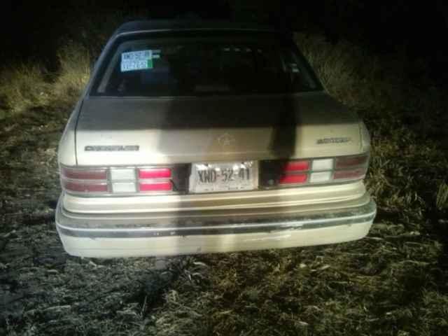 Policía Municipal de Calpulalpan, recupera vehículo presuntamente robado