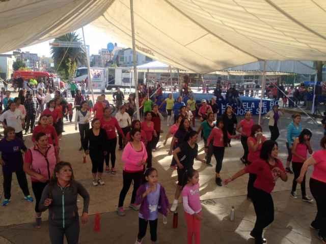 Tercer domingo de salud y deporte en Apizaco