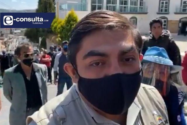 Retoman alcaldía de Totolac; 11 meses estuvo en manos de manifestantes