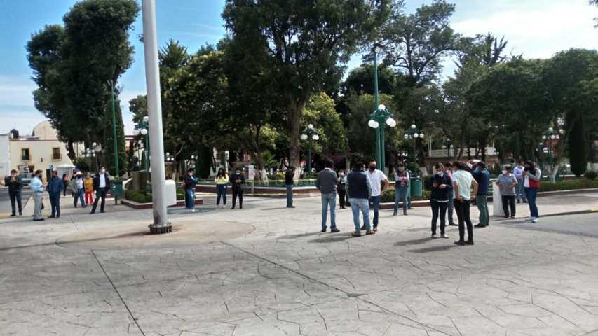 Activa Protección Civil Municipal de Huamantla protocolos de seguridad tras sismo