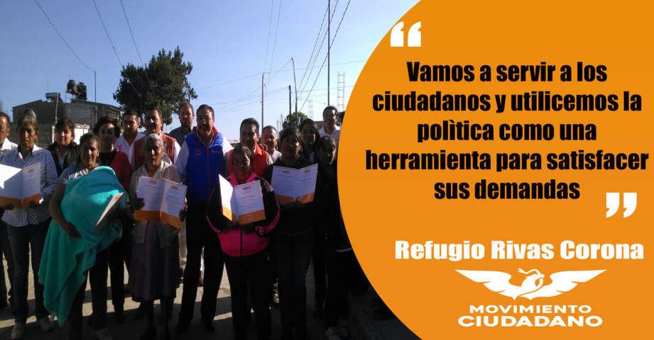 Hoy es el momento de estar cerca de los ciudadanos: Refugio Rivas