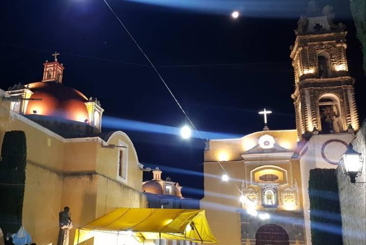 Con tecnología de punta iluminamos la parroquia y el Ex Convento: alcalde