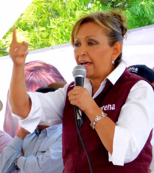 Lorena exige respeto a la libertad de prensa