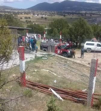 Mueren tres personas por explosión de pólvora en Sanctorum