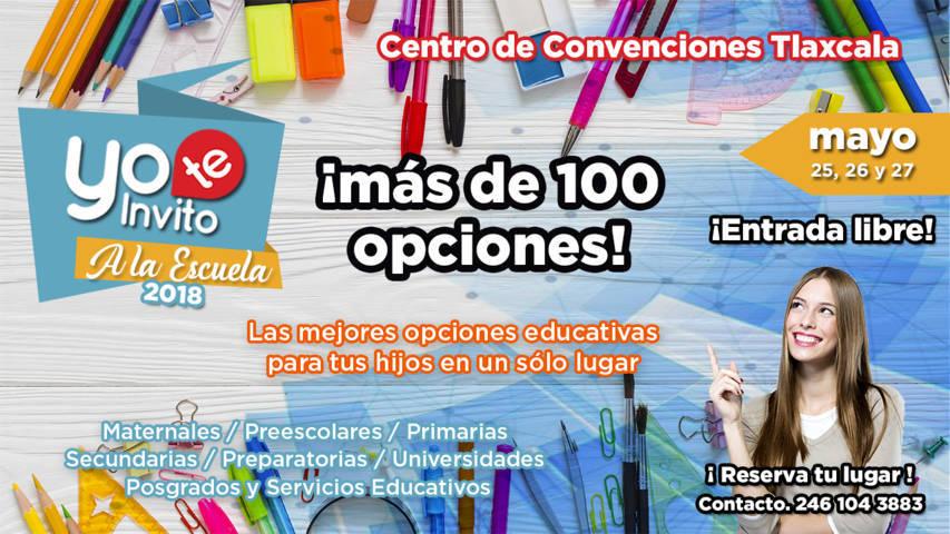 ¡No te pierdas! en Tlaxcala la Expo educativa