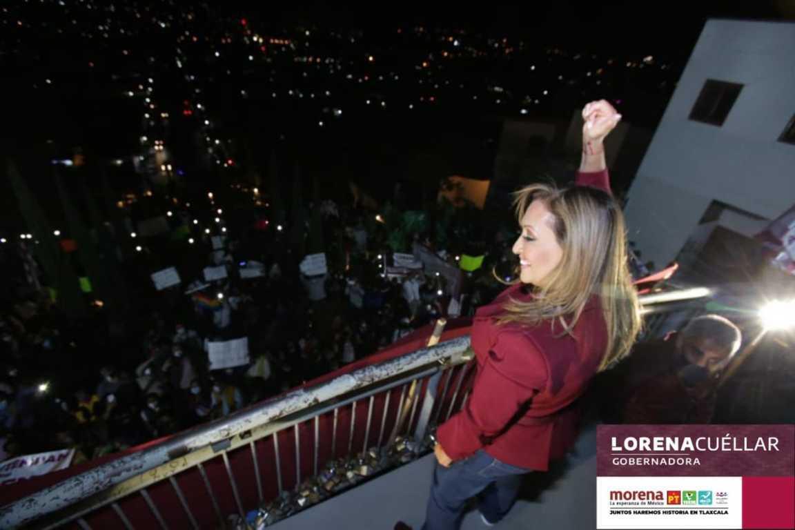 Lorena se llevó el debate dicen varias encuestas
