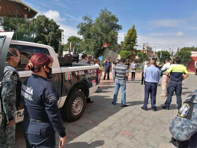 Sin afectaciones materiales y humanas en Santa Cruz Tlaxcala por sismo