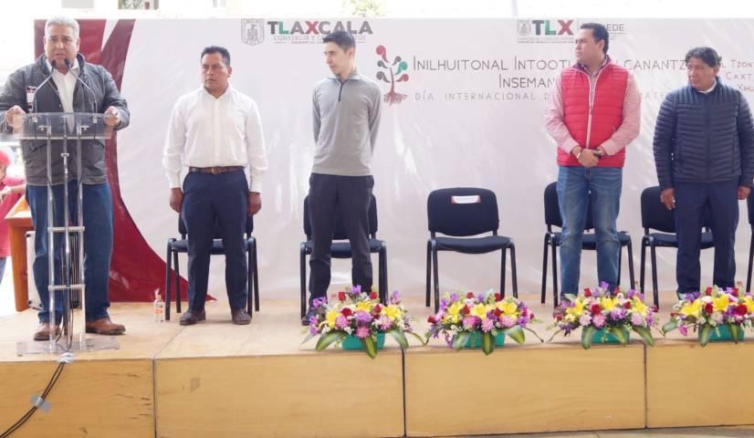 Capacitarán instructores del Icatlax a pobladores en lengua náhuatl