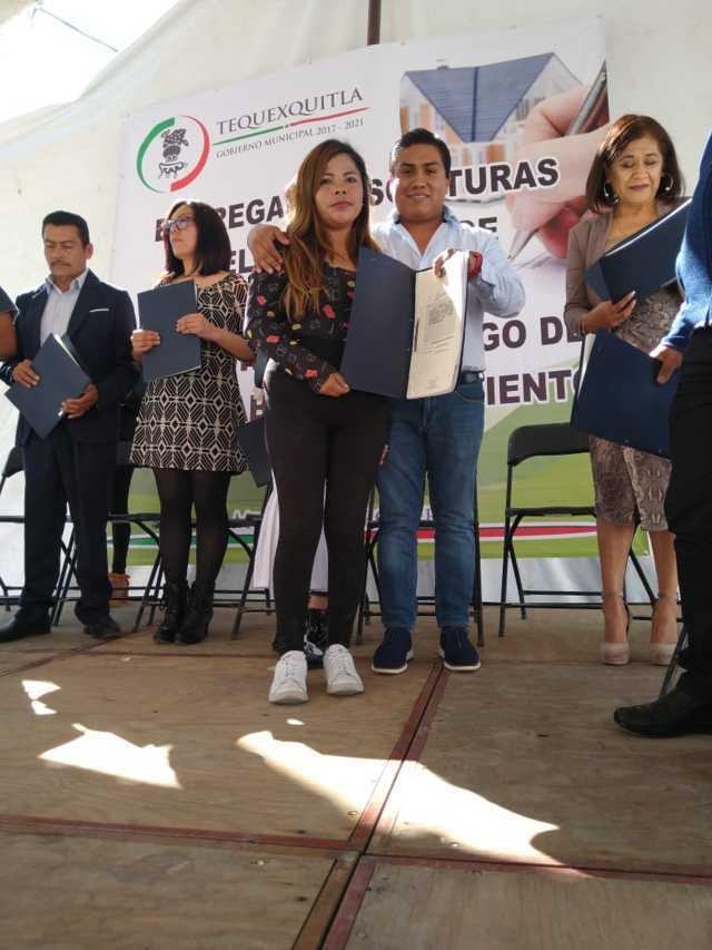 Tequexquitla realizó ambiciosa campaña de escrituración