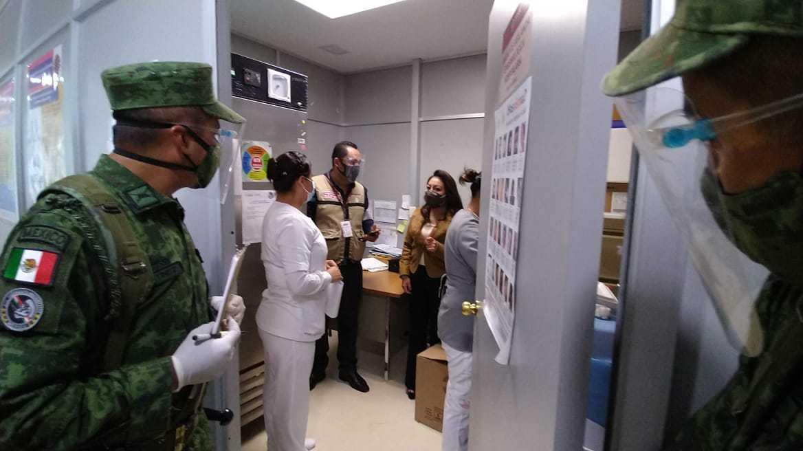 Médica del  ISSSTE primera en recibir vacuna covid - 19