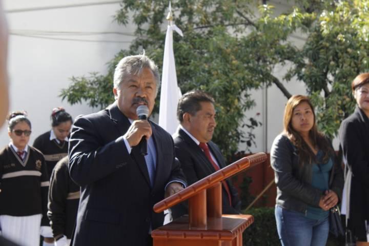 En la técnica 49 alcalde puso en marcha el ciclo escolar 2018-2019