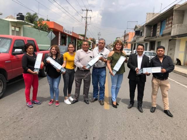 Pérez Rojas moderniza el sistema de alumbrado público con lámparas de leds