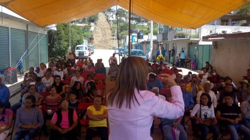 Lorena regresa a dar las gracias y pide confianza en AMLO