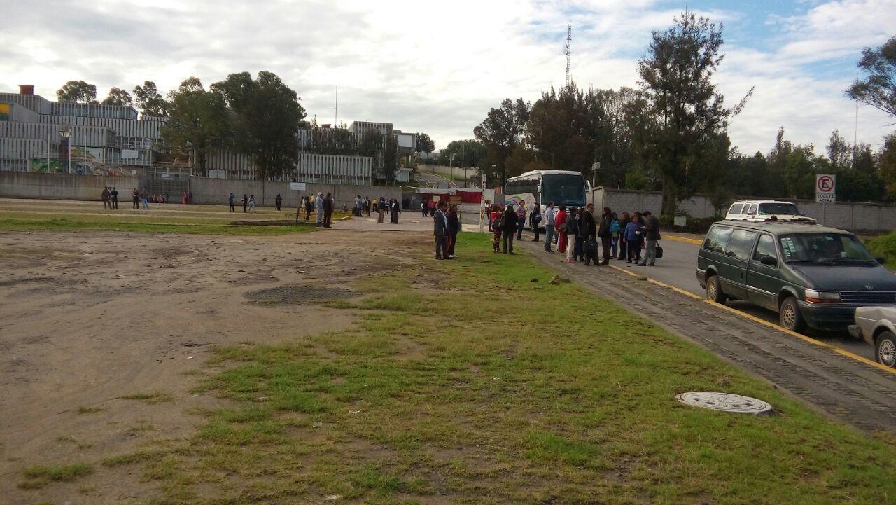Sobre el desalojo de normalistas en Tlaxcala