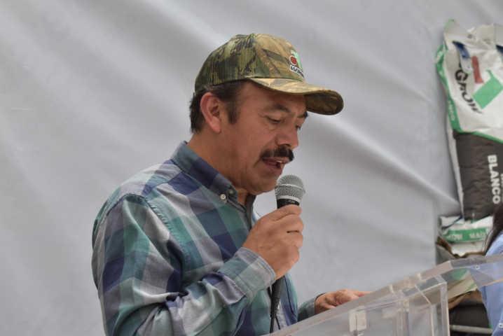 Tomás Orea inauguró la construcción de la Plazuela de Xitototla