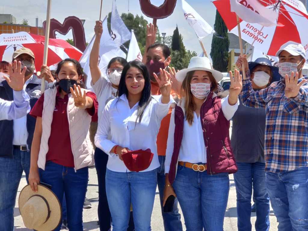 A días de que llegue la 4T a Tlaltelulco: Yazmin del Razo
