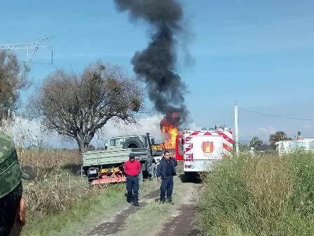 PC de Teacalco evacuó a 17 familias por explosión de Pemex