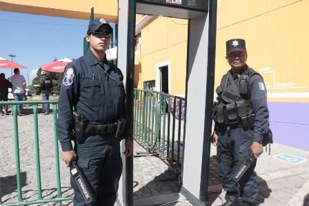 Fortalecen autoridades la seguridad en la Feria de Tlaxcala 2018