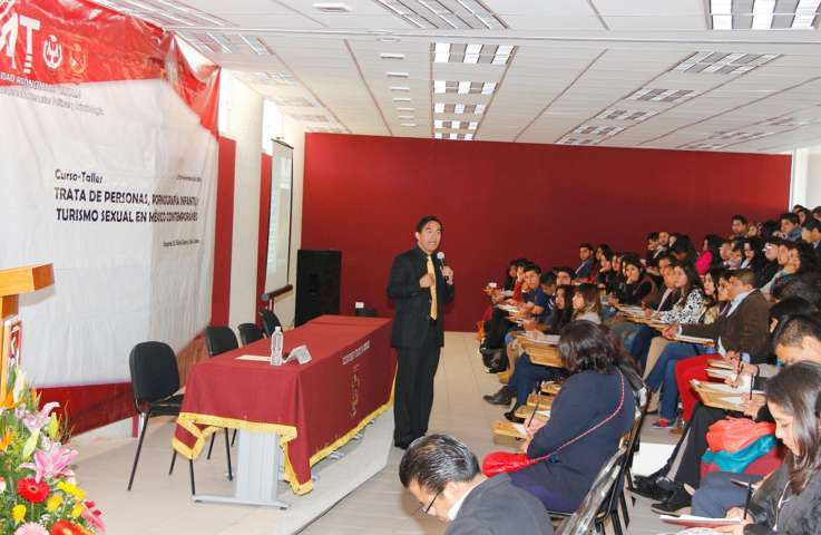 Desarrolló Facultad de Derecho de la UAT Curso-Taller de Trata de Personas