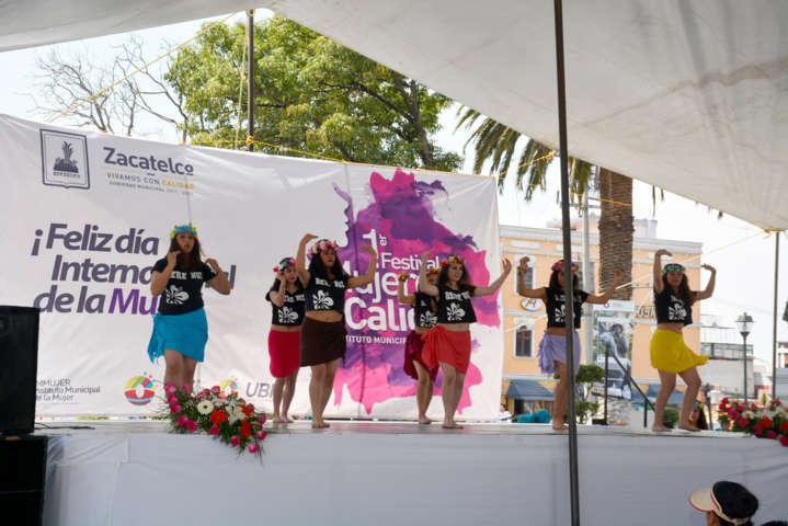 """Orea Albarrán inaugura 1er festival """"Mujer de Calidad"""""""