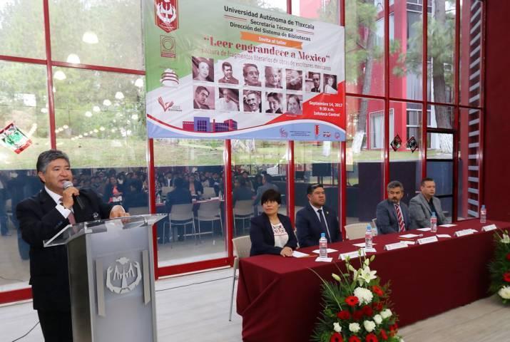 Efectúa UAT taller: Leer engrandece a México
