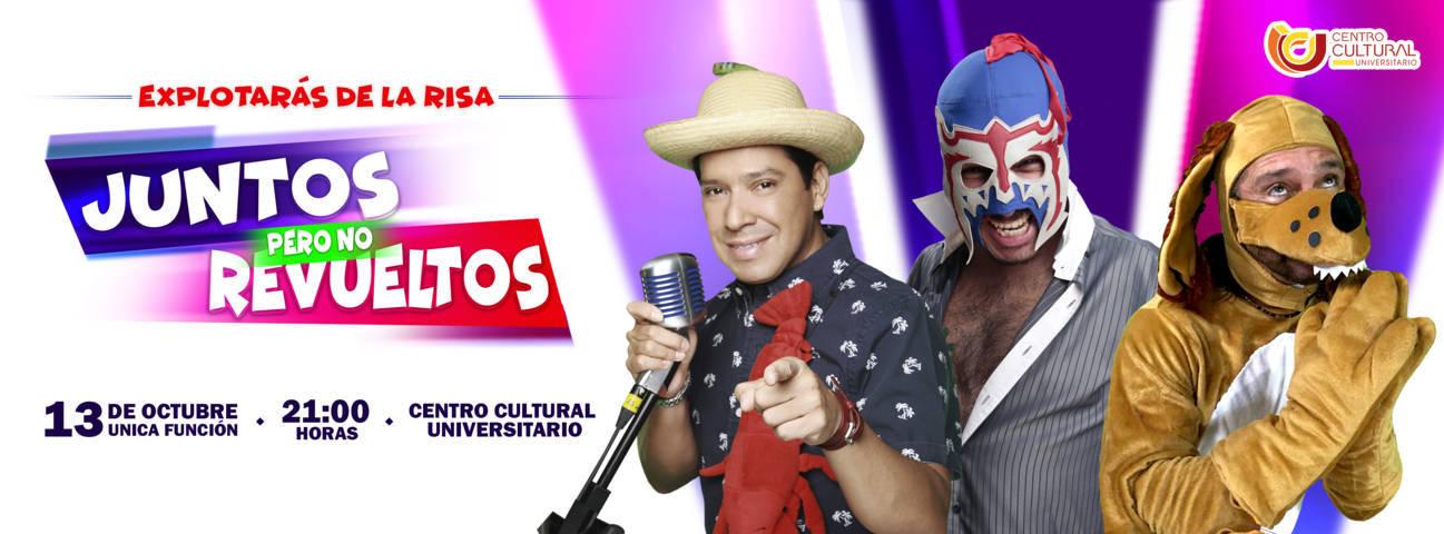 Quieres ir gratis al show Juntos Pero No Revueltos, en e-consulta te invitamos