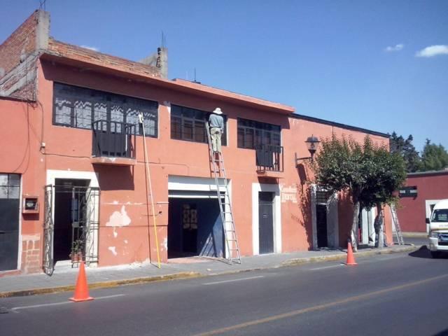Continúa comuna capitalina con trabajos de rehabilitación de fachadas