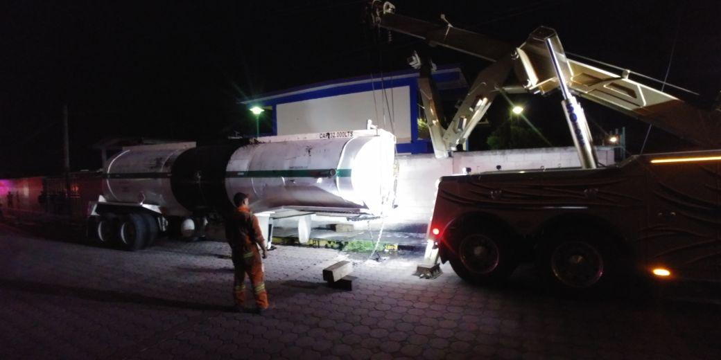 Atiende ayuntamiento de Panotla contingencia tras accidente