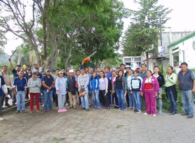 Continúa Totolac programa de saneamiento del Río Zahuapan en La Rivereña